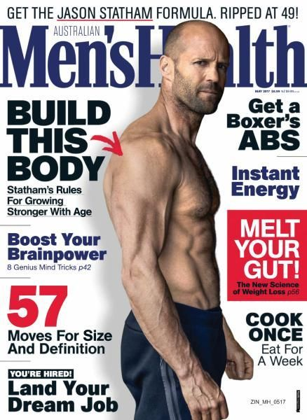 DIARY OF A CLOTHESHORSE: Jason Statham covers Men's Health Magazine Austral...
