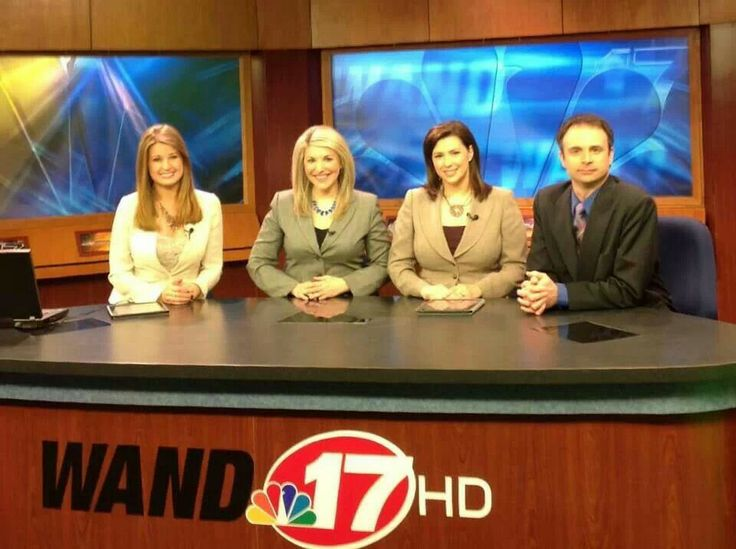 WAND TV midday news team Samantha Singer,  Stacy Skryshak, Dawn Sterling and…