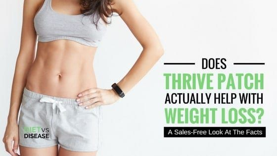 Does Thrive Patch Help With Weight Loss  A Sales Some have touted Thrive Patch as a weight loss wonder but do actual results reflect this bold statement? This is a sales-free review of Thrive Patch