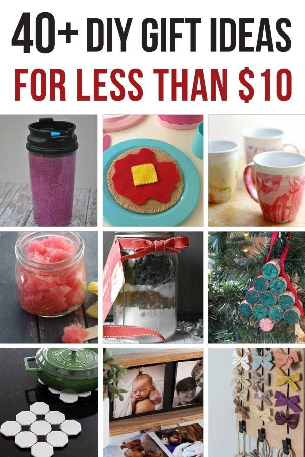 45 Cheap Gift Ideas You Can Make For Less Than 10 Diy Christmas Gifts Cheap Easy Gifts Cheap Christmas Gifts