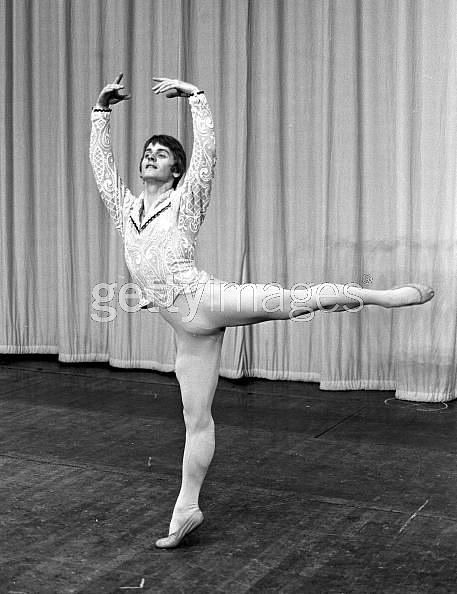 Mikhail Baryshnikov in London, 1970