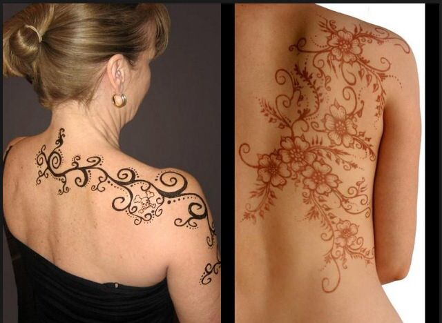 Mehndi Nape Tattoo : Best henna tattoo feet images