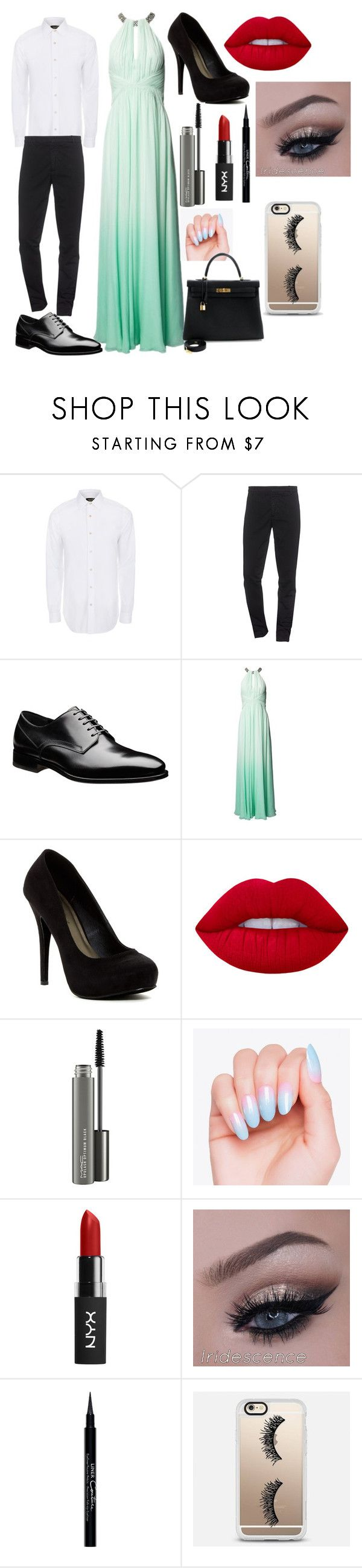 baile de finalistas homem e mulher by filipaladino on Polyvore featuring Matthew Williamson, Michael Antonio, Hermès, Casetify, Paul Smith, Kenzo, Lime Crime, MAC Cosmetics and Givenchy