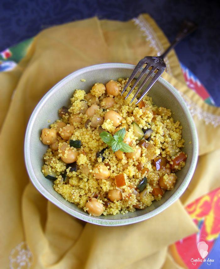 Cuscús con garbanzos y verduras | Cocina