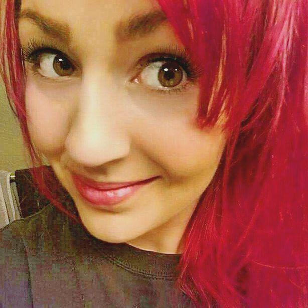dark magenta hair  Sally Beauty color  Agran One N' Only dye