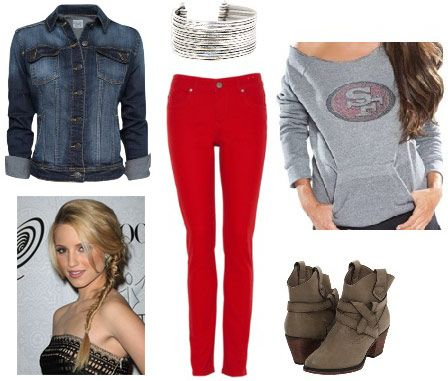 NFL football outfit 4