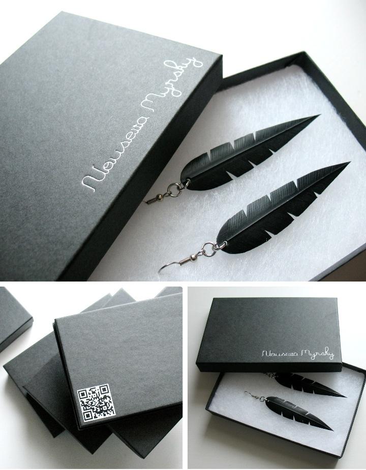 Nouseva Myrsky jewelry packaging