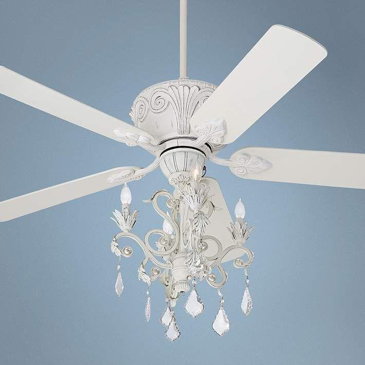 White Chandelier Ceiling Fan: 17 Best Ideas About White Chandelier On Pinterest