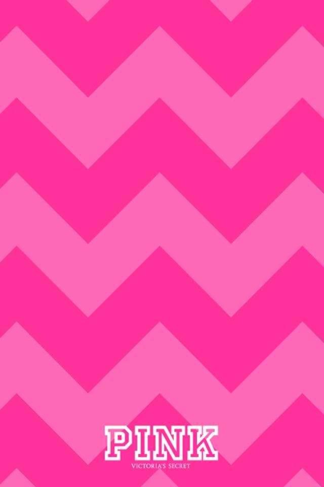 VS PINK chevron iPhone wallpaper