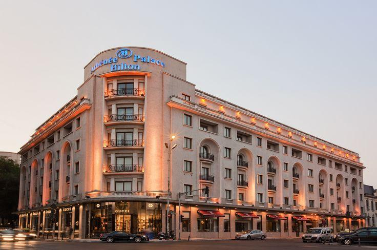 Athenee Palace Hilton #Bucharest (Romania)