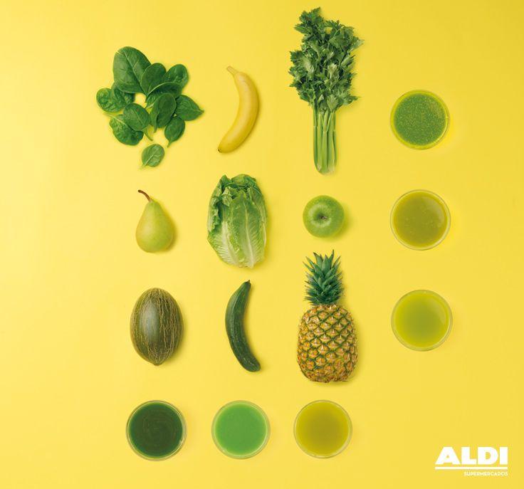 Estas son algunas combinaciones para hacer zumos saludables, ¡pero se nos ocurren muchas más! Prueba, prueba... #healthy