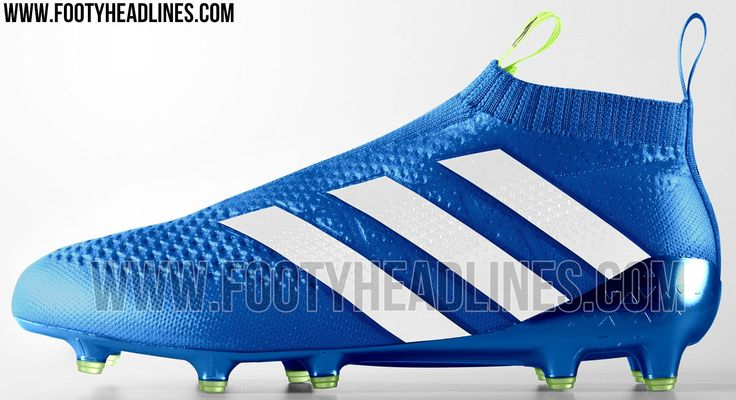 Adidas will launch the third Adidas Ace 16+ PureControl boot colorway in April 2016, boasting an understated-yet-modern design in blue and white.