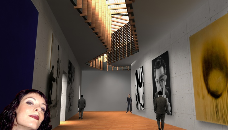 Nueva sala del museo de arte moderno de Ceret (Francia)