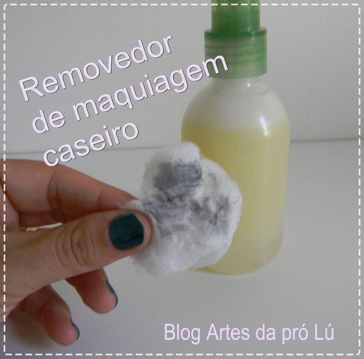 Como fazer removedor de maquiagem caseiro   por Luciana Aragão