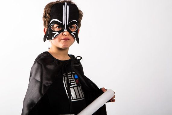 Darth Vader mask Costume Star Wars Toddler costumes, toddler costume Ready to ship Halloween costumes for kids.