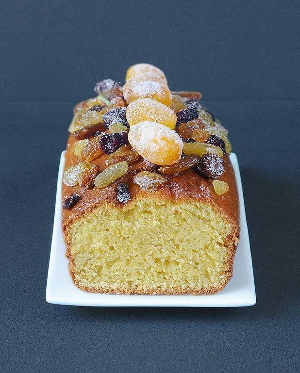 Cake de Noël aux fruits secs pour 8 personnes - Recettes - Elle