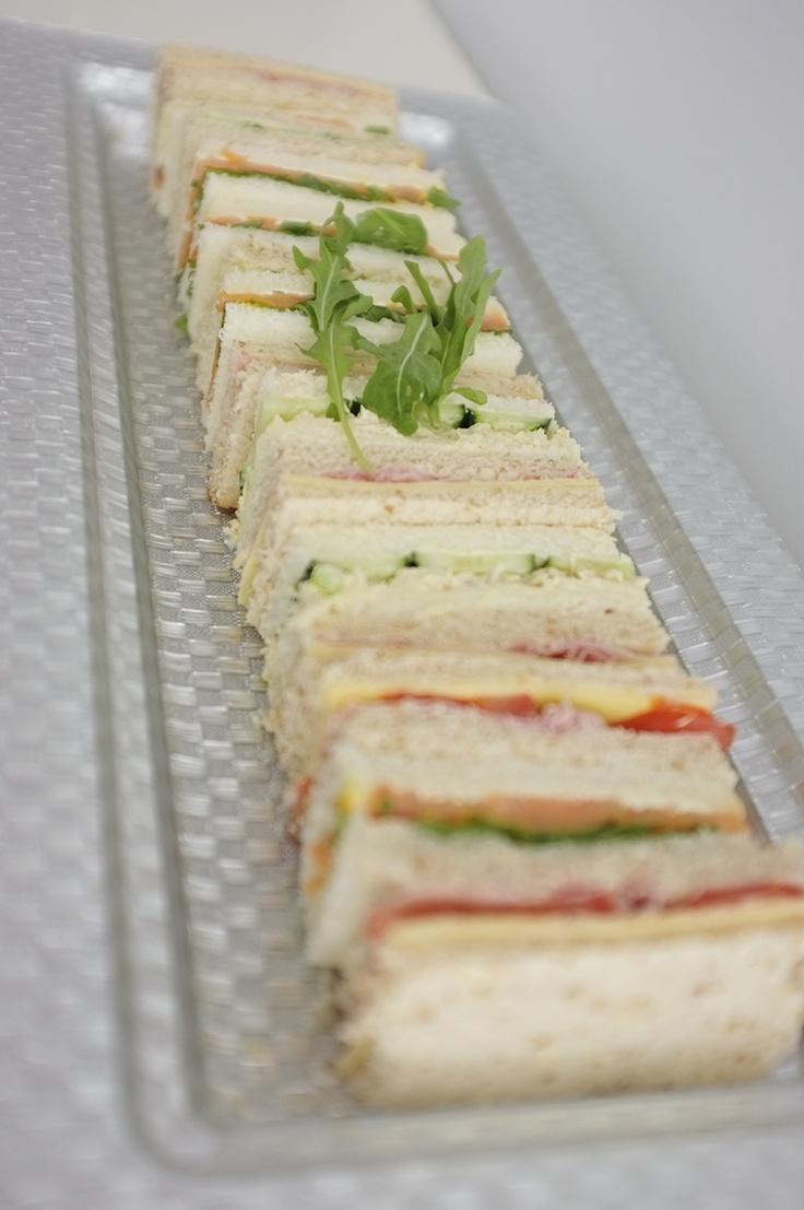 Pretty Amp Simple Presentation For Finger Sandwiches Sofia