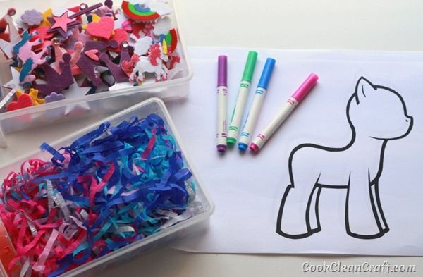 Design your own My Little Pony craft