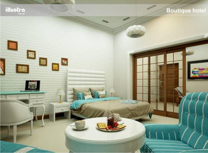 boutique hotel rander 3d design room