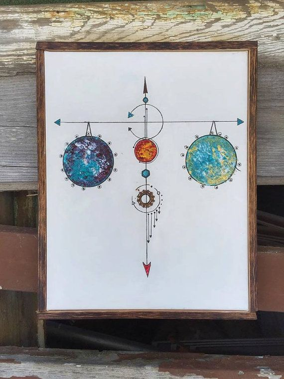 Levels libra paintings by AndrewsArtAwakened on Etsy ...