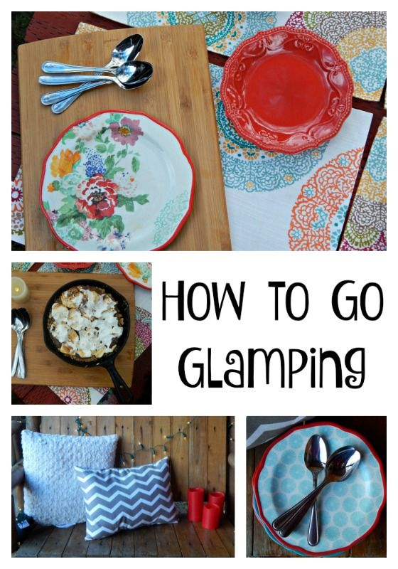 Tips and tricks for your next #glamping trip, plus a delicious recipe for a simple s'mores mousse pie. #Fallglamping ad