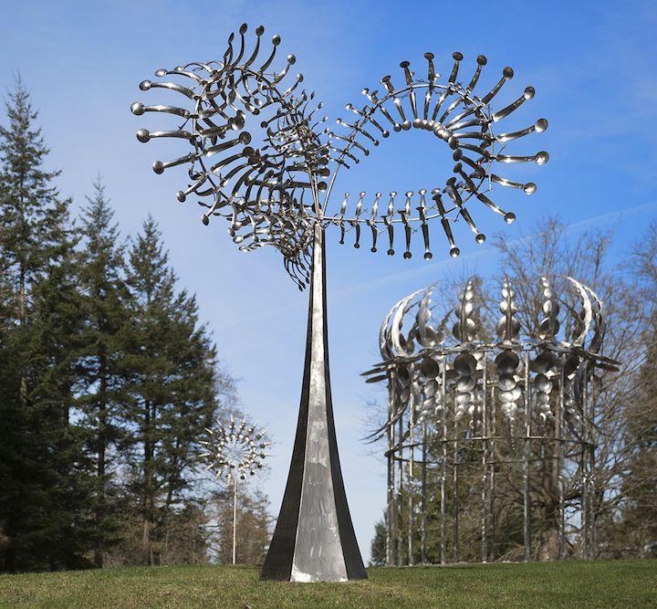 LA ESCULTURA CINÉTICA DE VIENTO DE ANTHONY HOWE #curioso #creativo #escultura #esculturas #cinetica #viento #arte @xintasprint1