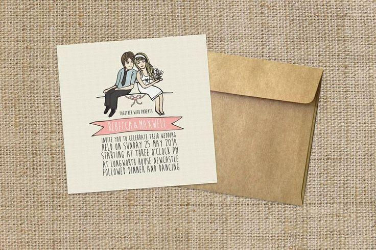 """Our """"illustration love"""" design! Www.youroneandonly.com.au"""