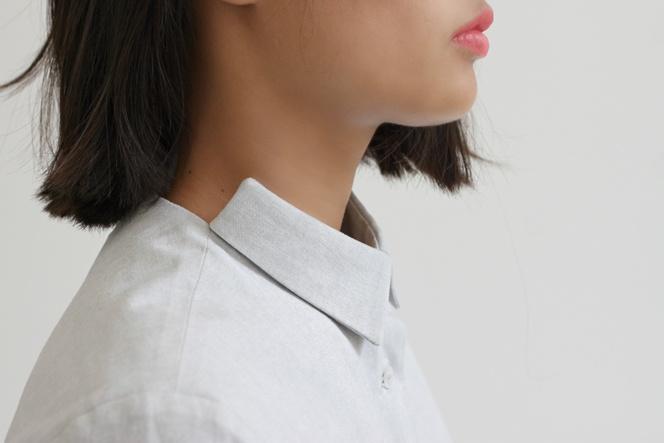 Land blouse minimal fashion mode Dutch design Amsterdam