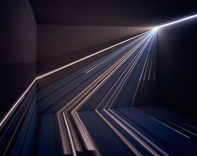 light beam art w/ camera obscura | chris fraser