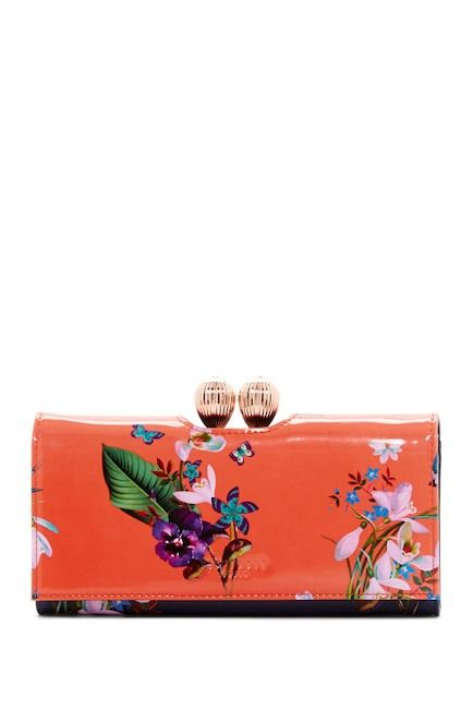 Image of Ted Baker London Tropical Oasis Bobble Matinee Wallet
