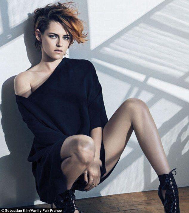 The Rebel: Kristen Stewart in CHANEL Resort 2015 by Sebastian Kim for Vanity Fair France September 2014