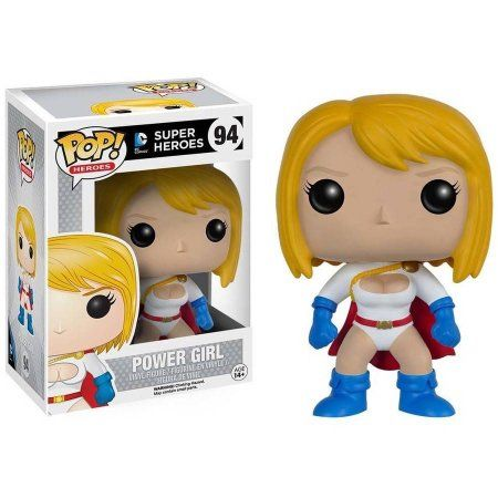 Funko 8678 POP Heroes DC Comics Power Girl Figure, Multicolor