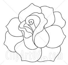 Best 25 Rose outline ideas on Pinterest Simple rose Small rose