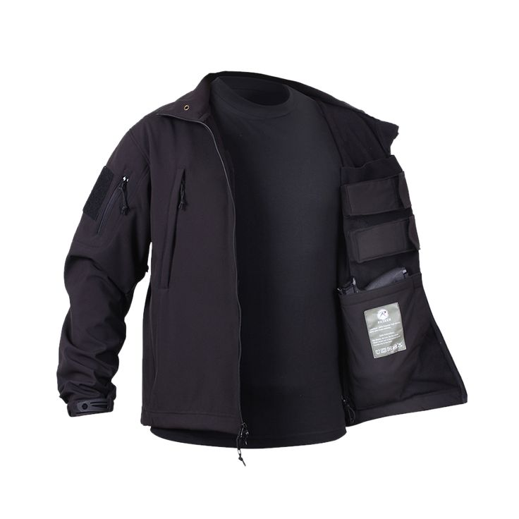 Concealed Carry Soft Shell Jacket - Drop Line - ninelineapparel