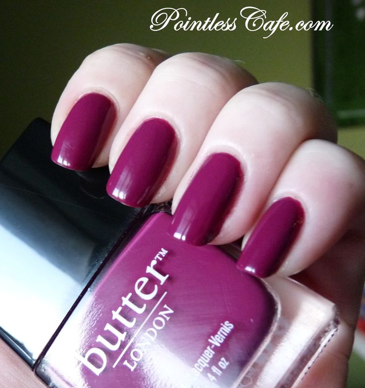 Pointless Cafe: butter LONDON Queen Vic - Swatches and Review