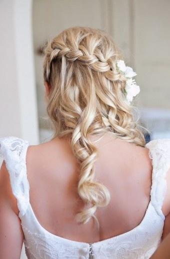: French Braids, Hair Ideas, Bridesmaid Hair, Waterfal Braids, Beautiful, Prom Hair, Hair Style, Waterfall Braids, Wedding Hairstyles