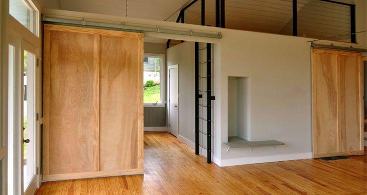Awesome Sliding Wooden Doors External and sliding wooden door mechanism