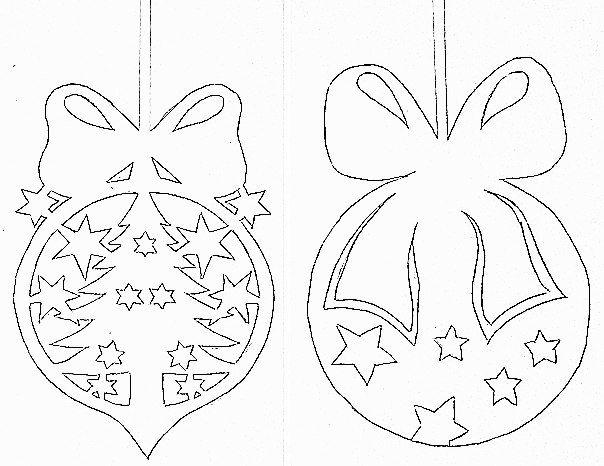 Новогодняя украшения на окна из бумаги своими руками шаблоны