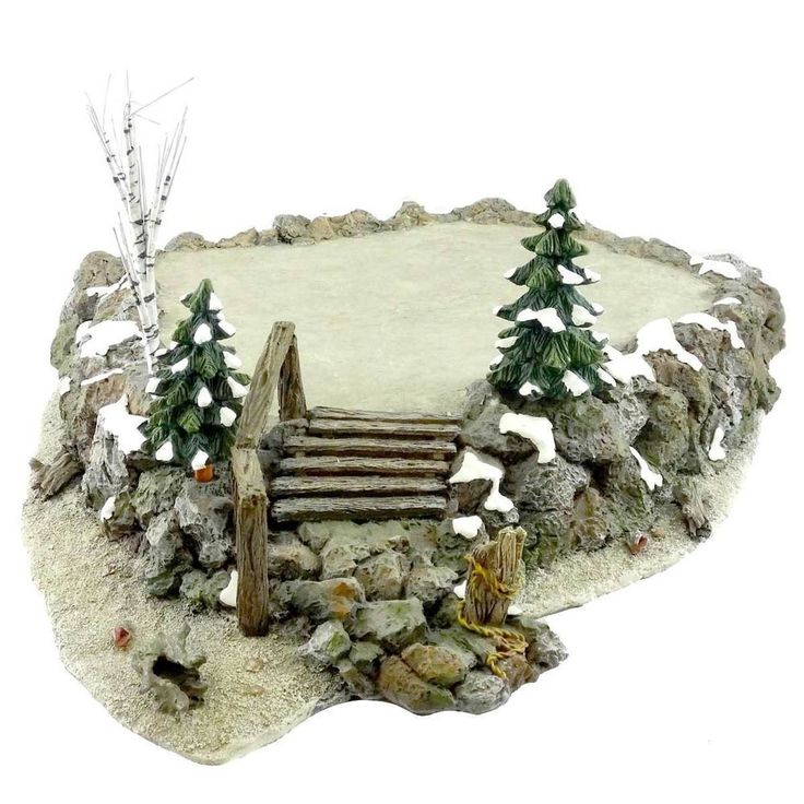 "Department 56 ""Craggy Cliff Platform"" Village Accessory #56.52794 #Department56"
