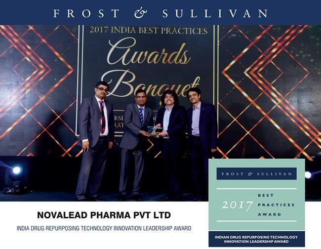 #NovaLeadPharma Receives Frost & Sullivan's Indian Drug Repurposing Technology Innovation Leadership Award 2017