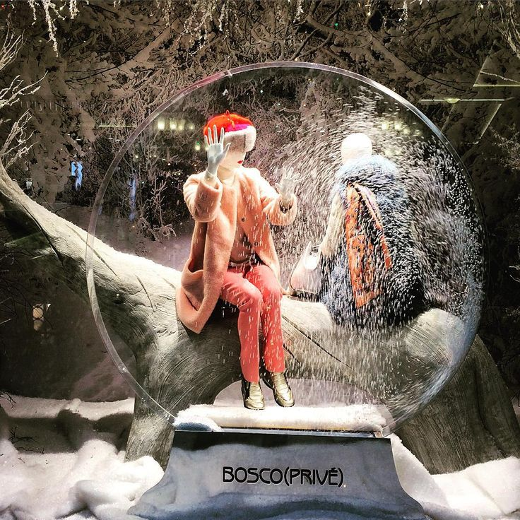 """GUM DEPARTMENT STORE, Moscow,Russia, """"Time is a snow globe; you shake it and everthing changes"""",pinned by Ton van der Veer"""