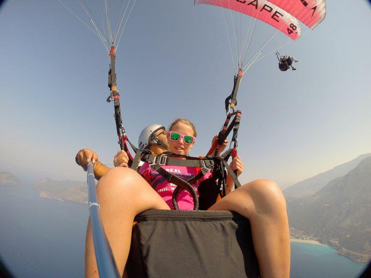Tandem Paragliding, Oludeniz-Fethiye, Hasan Gunher