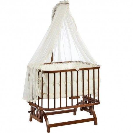 Baby Tech 101 Anne Yanı Ceviz Beşik
