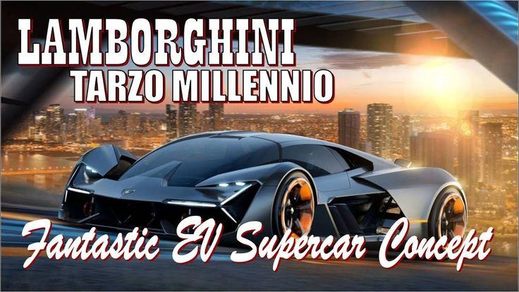 Watch Now..! Lamborghini Terzo Millennio concept | is a Fantastic EV Sup...