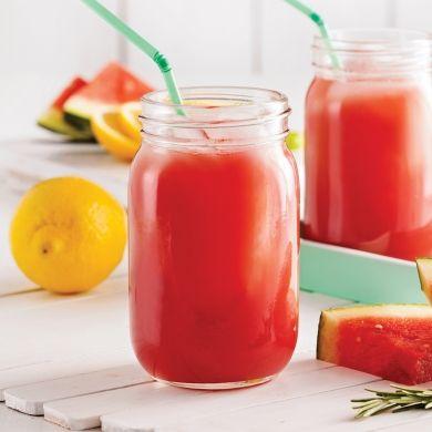 Smoothie rafraîchissant au melon d'eau et romarin - Recettes - Cuisine et nutrition - Pratico Pratiques
