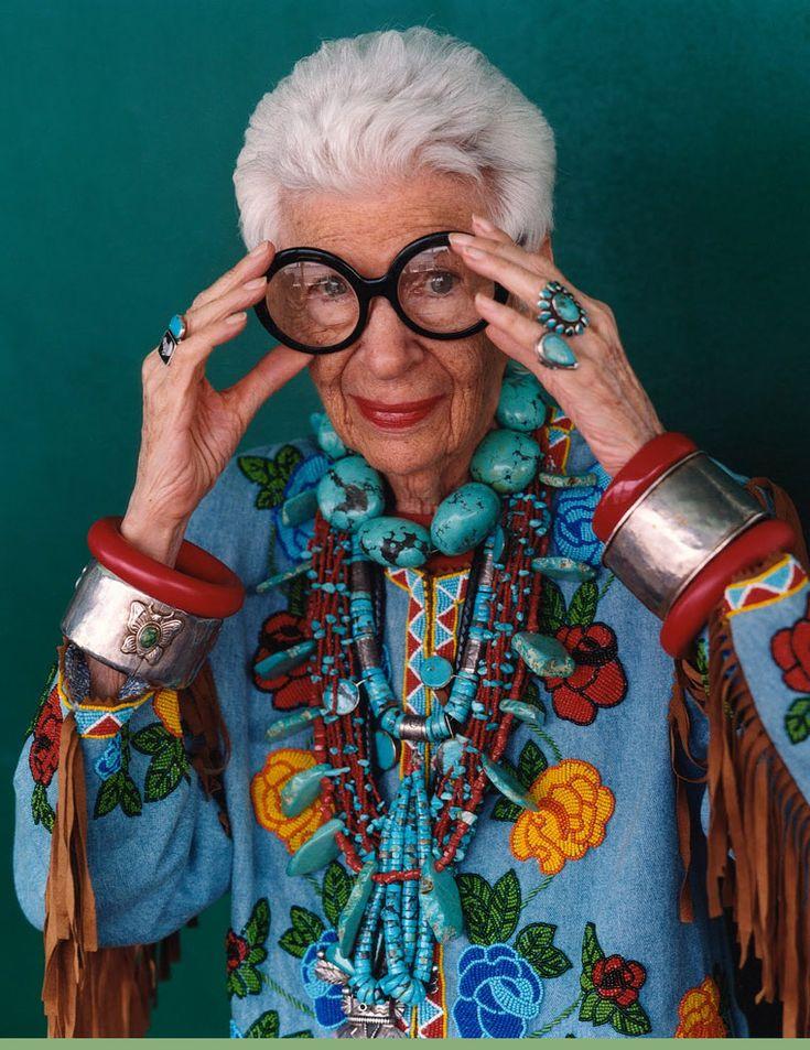 Iris Apfel icône de la mode Trouvez l'inspiration sur www.atelierbijouxceramique.fr