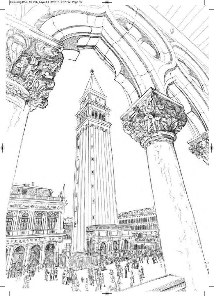 3d Coloring Book Architecture Greek Architecture Coloring Book ...