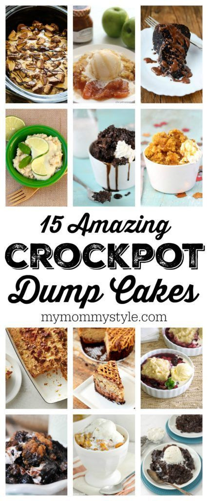 15 Amazing Crock Pot Dump Cakes