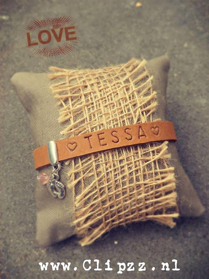 # With words bracelet #  www.clipzz.nl