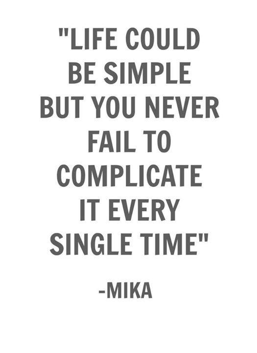 Mika - Blame It On The Girls lyrics